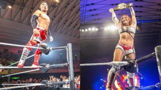 WWE 日本 大阪公演 戸澤陽 カイリ・セイン インタビュー 凱旋