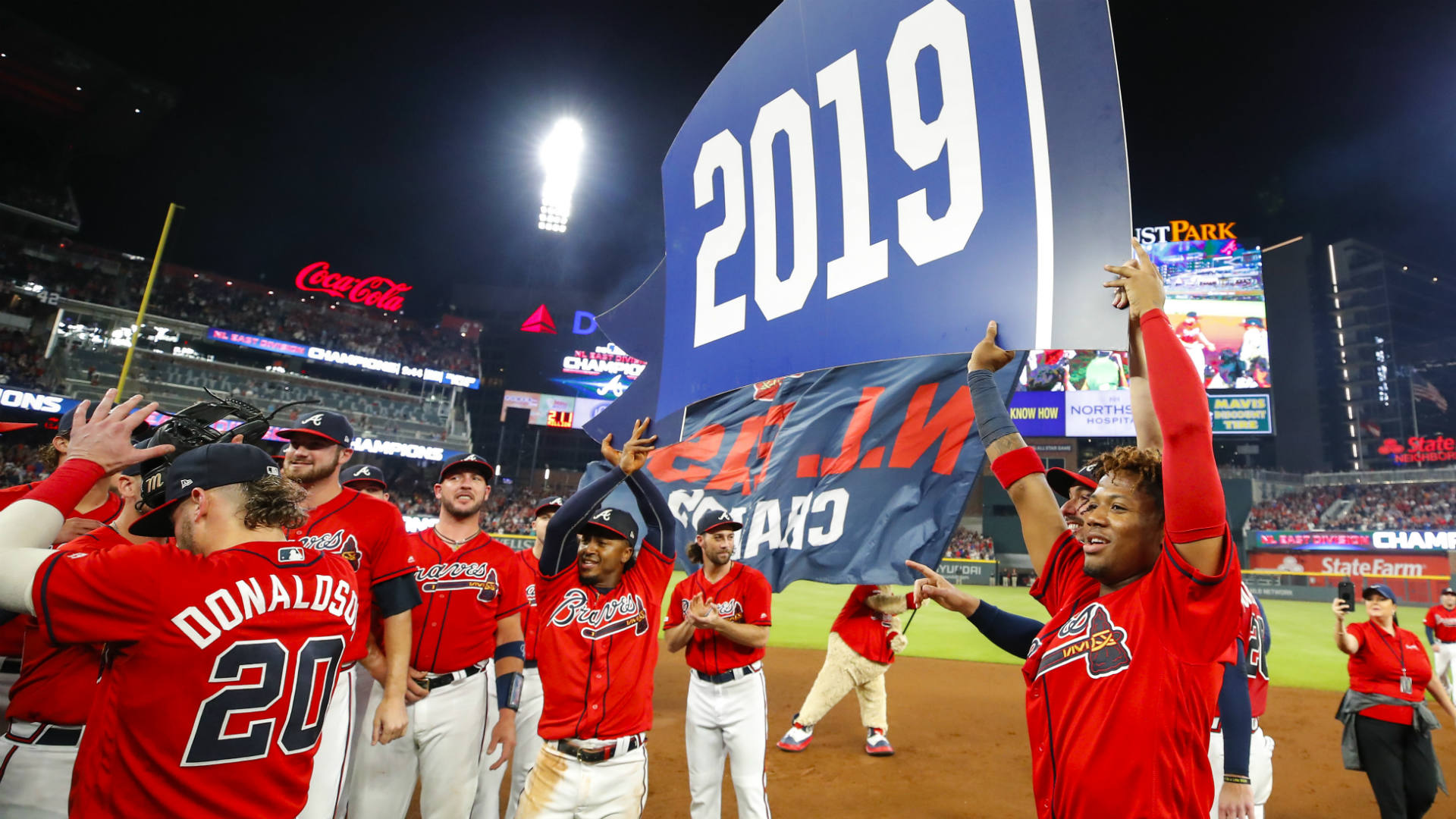 These Braves are brimming with confidence and not concerned with past playoff failures