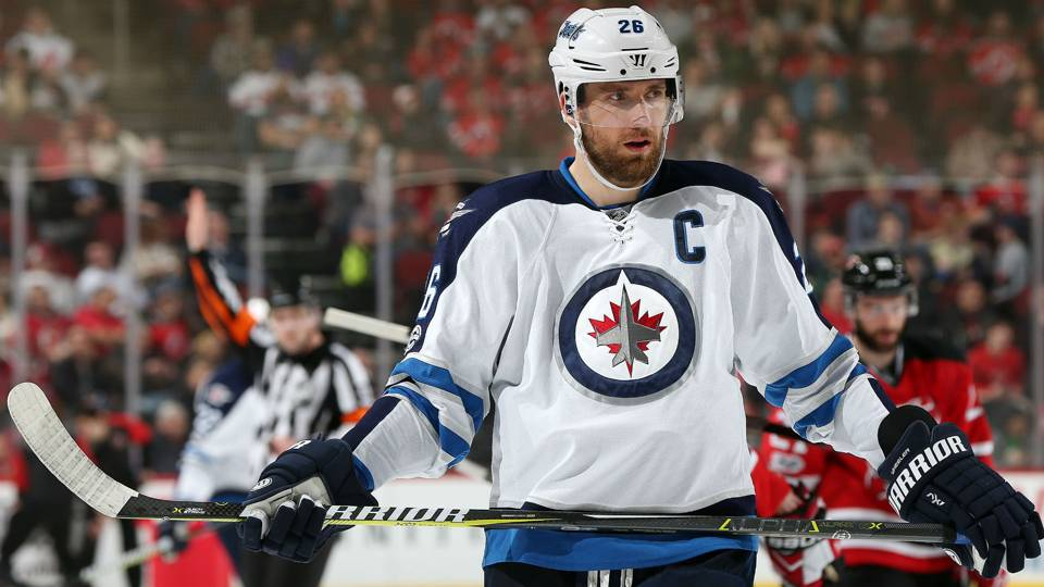 Jets sign captain Blake Wheeler to five-year contract extension