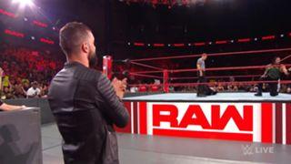 WWE ロウ #1315 レインズ ベイラー コービン