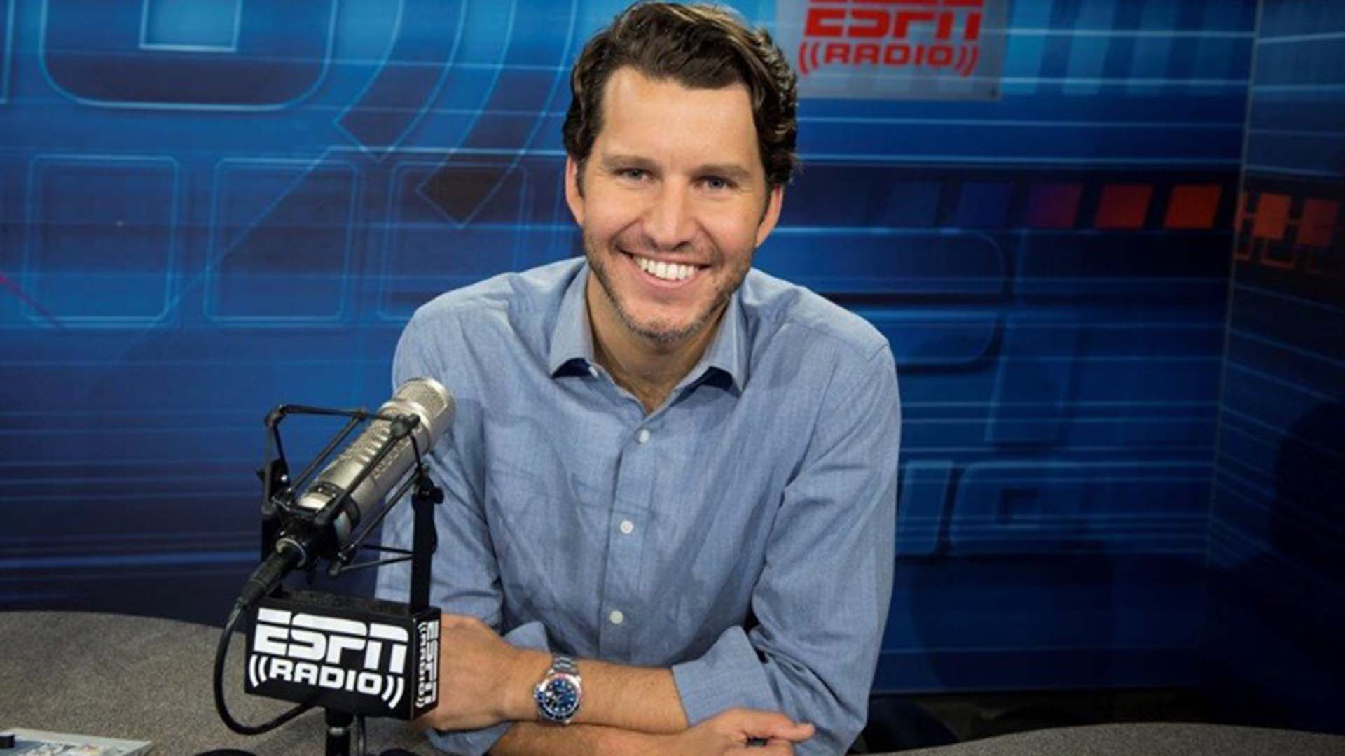 ESPN's outspoken Will Cain not afraid to mix it up with