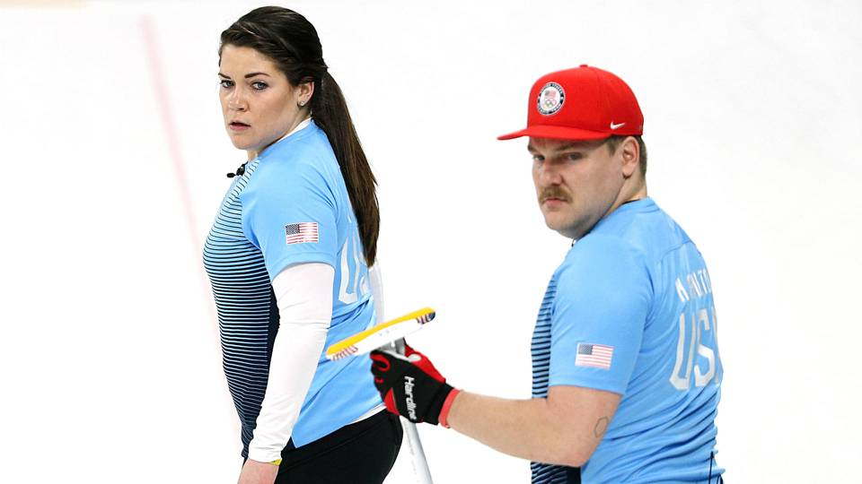 Winter Olympics 2018: U.S. curling duo mercy-ruled vs. Korea to end winless day