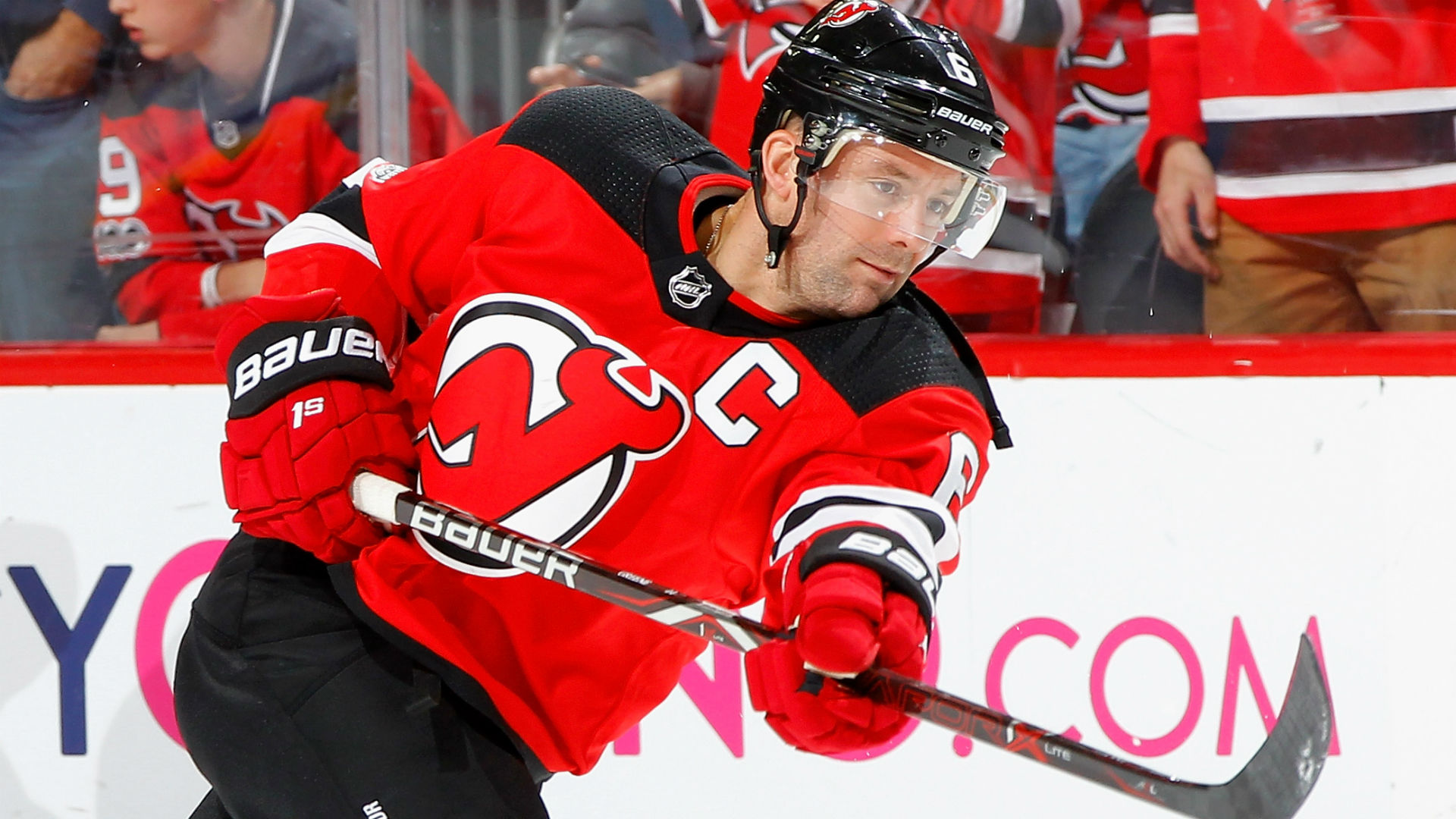 new style 60219 a858a After 11 years and 748 games, Devils' Andy Greene earns ...