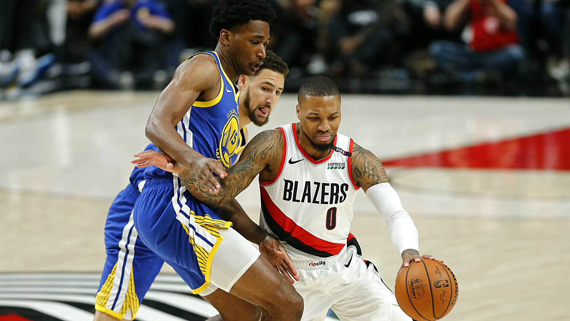 trail blazers vs warriors - photo #32