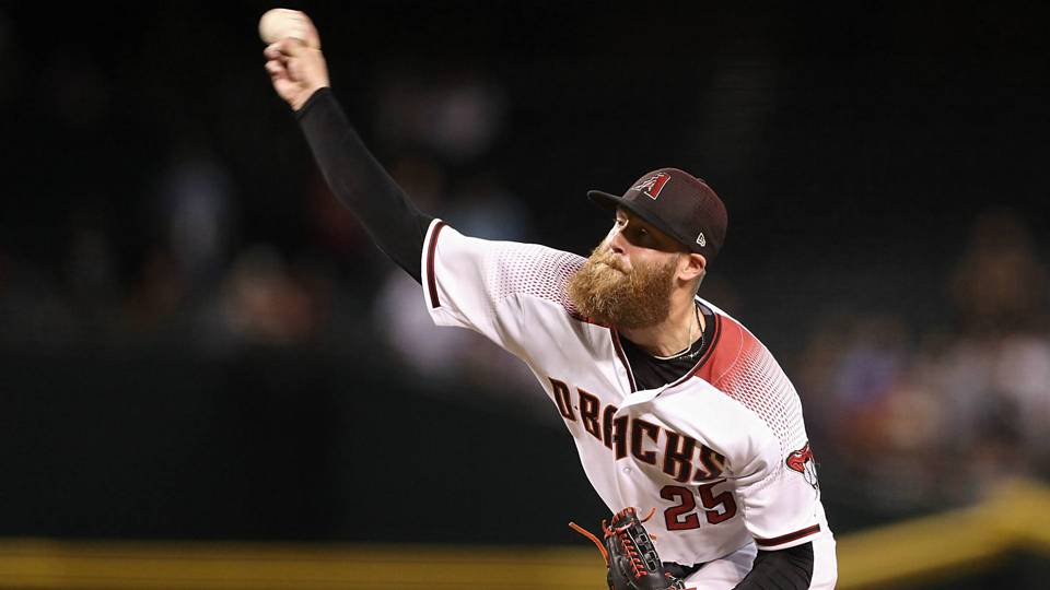 Diamondbacks' Archie Bradley hilariously reveals he pooped his pants during game