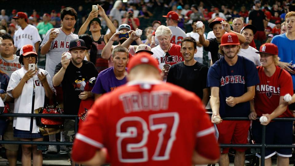 Mike Trout doesn't have to change a damn thing for anybody