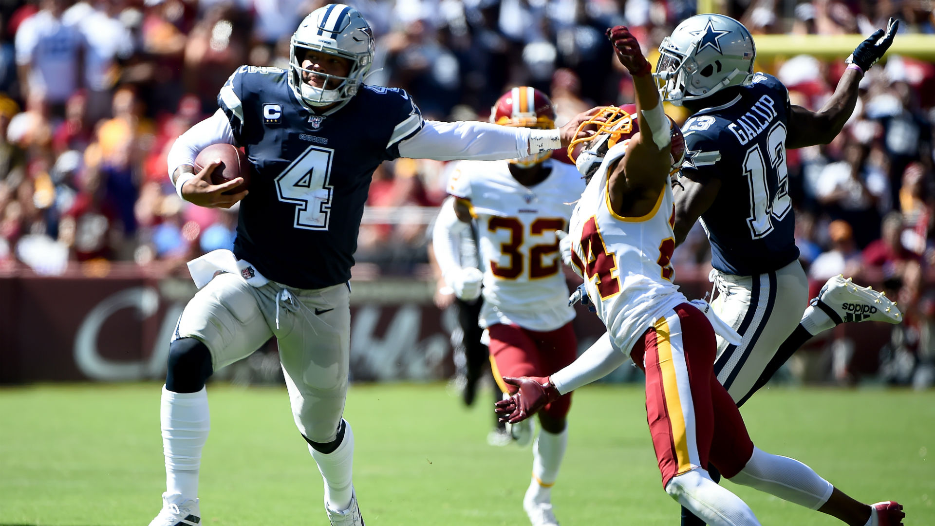 Dak Prescott gets revenge after Josh Norman's trash talk