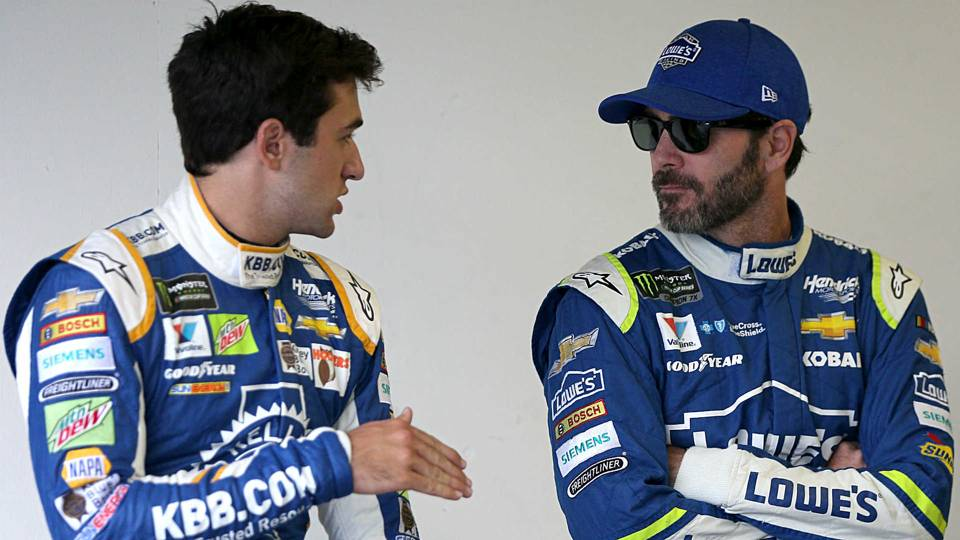 Desire still burns in 'Grandpa' Jimmie Johnson