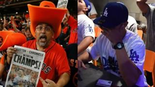 Astros, Dodgers fans