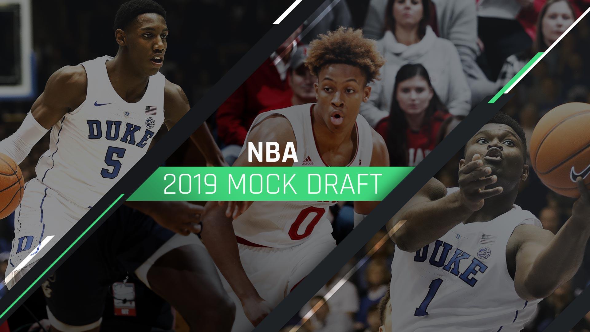 nba mock draft 2019 post