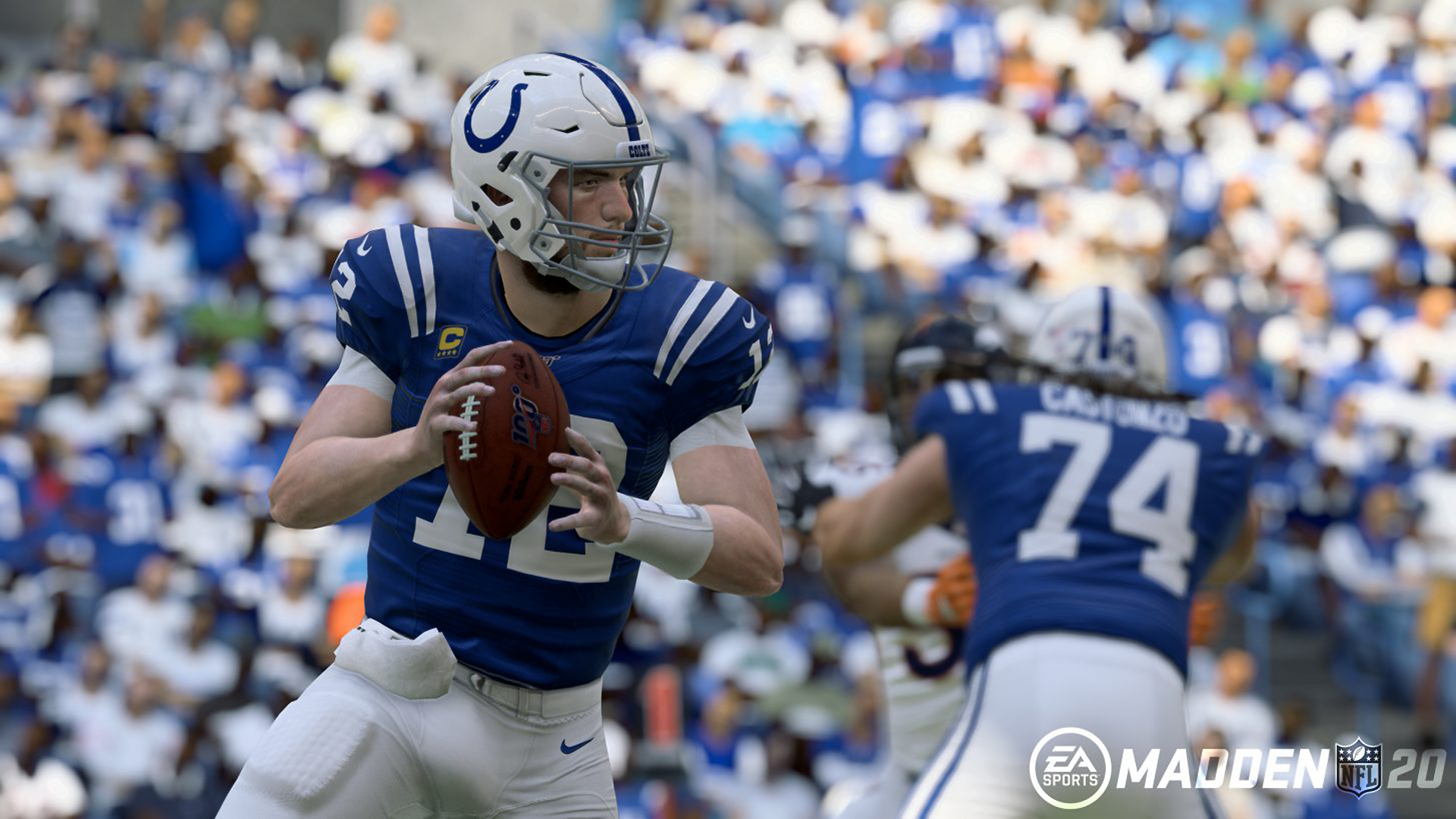 How to throw a touch pass in 'Madden 20' on Playstation 4
