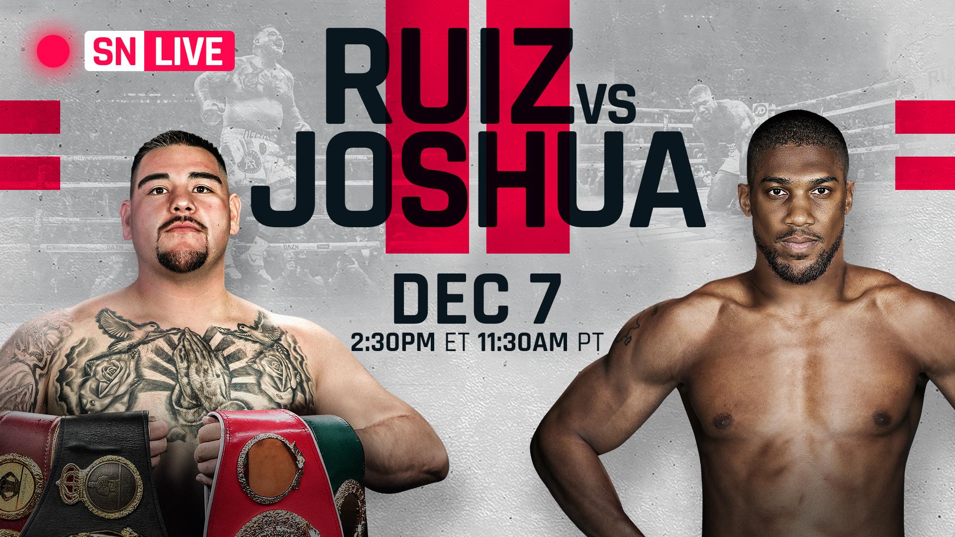Andy Ruiz Jr. vs Anthony Joshua 2 actualizaciones en vivo, resultados de peleas, aspectos más destacados de la revancha 2