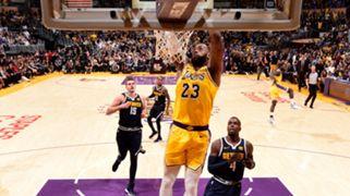 LeBron James Lakers Nuggets