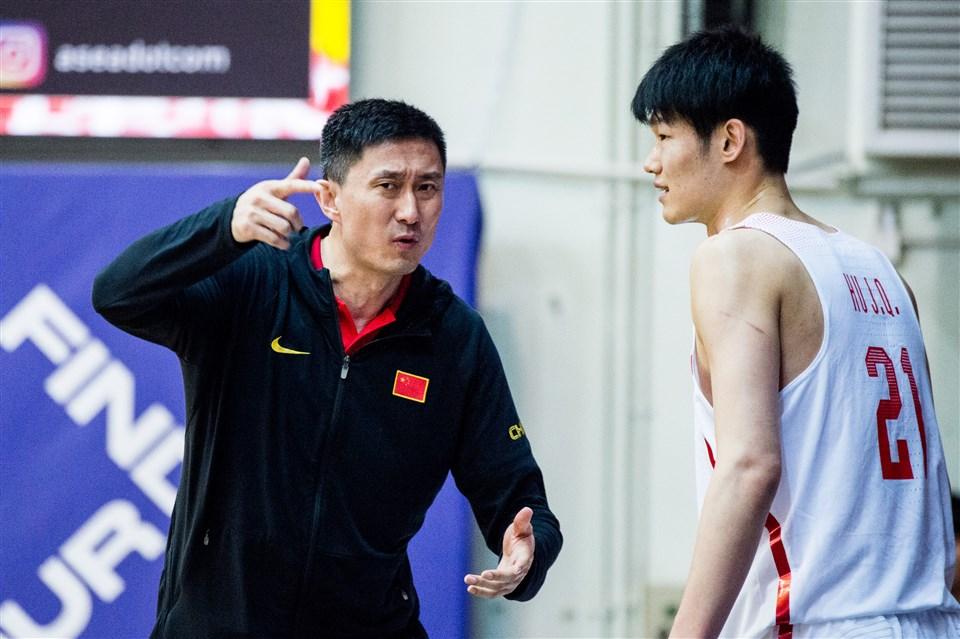 Hu Jinqiu FIBA China