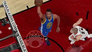 NBA 2K Kevin Durant Golden State Warriors