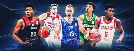 Under 21 stars FIBA Basketball World Cup