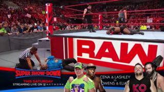 WWE ロウ #1323 ボビー・ラシュリー ケビン・オーエンズ