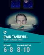 Tannehill bad at night