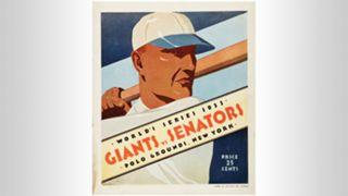 1933 World Series program