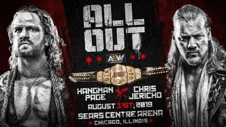 AEW All Out - Chris Jericho vs Adam Page