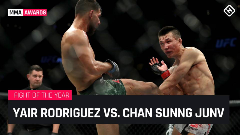 Sporting News 2018 Fight of the Year (MMA): Yair Rodriguez vs. Chan Sung Jung