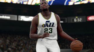 NBA 2K16 Draymond Green on Jazz