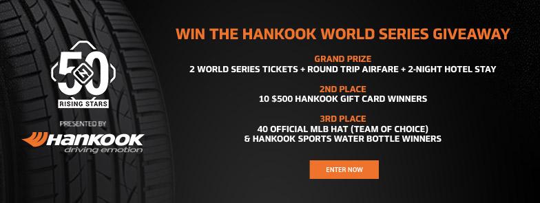 Hankook Giveaway