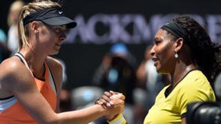 Maria Sharapova Serena Williams