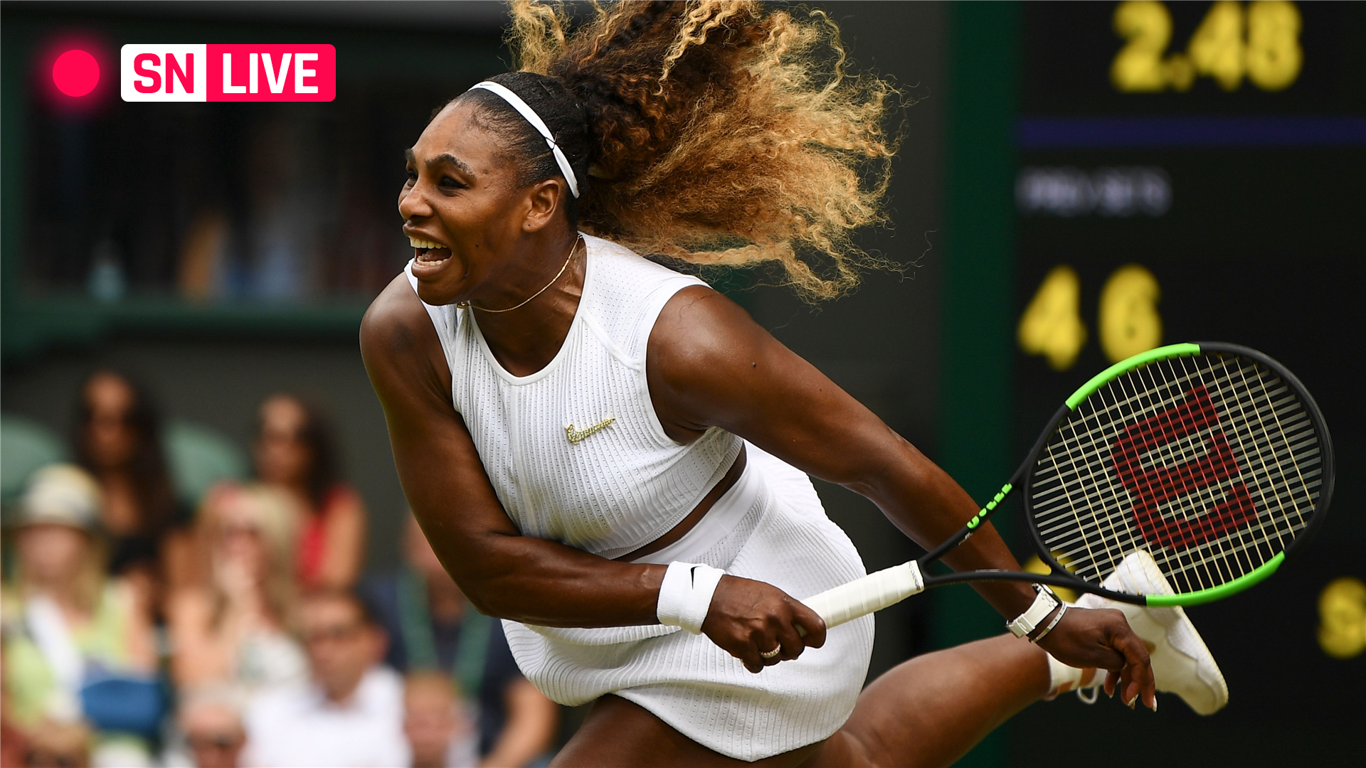 Williams' coach: Serena must deal with 'crazy emotions ...