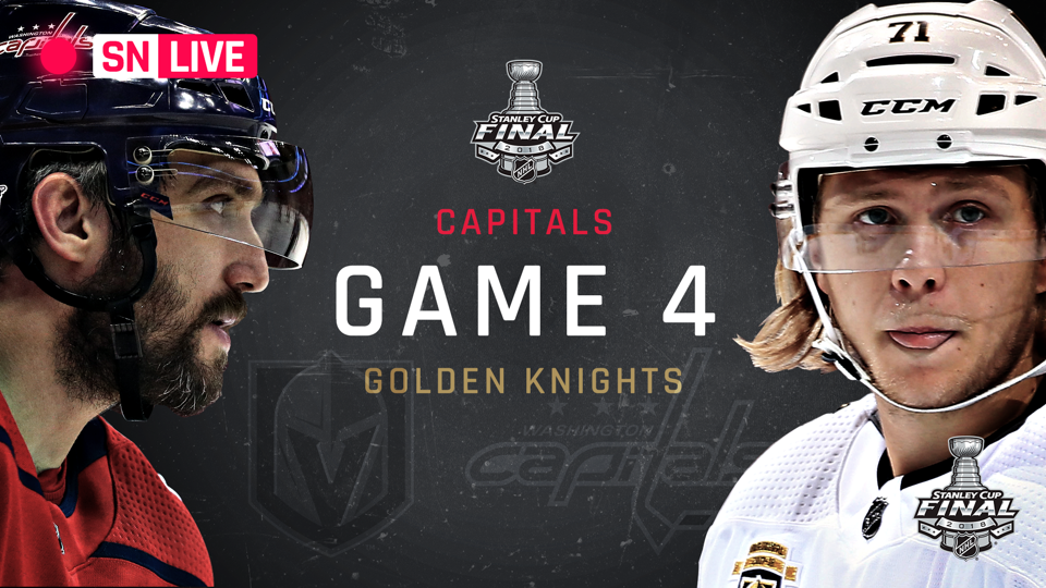 Stanley Cup Final 2018: Golden Knights vs. Capitals live rating, updates from Game 4