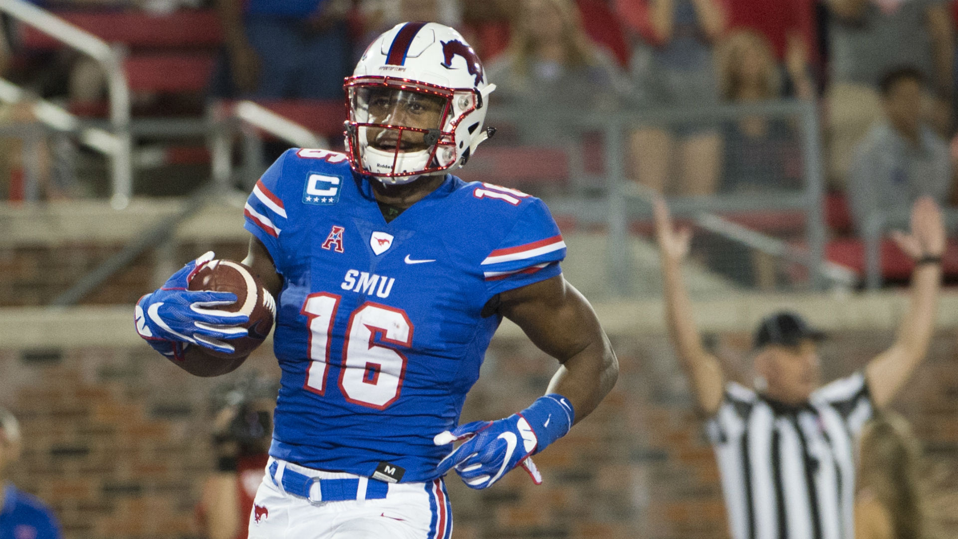 SMU's Courtland Sutton could be first WR drafted in 2018, NFL GM says