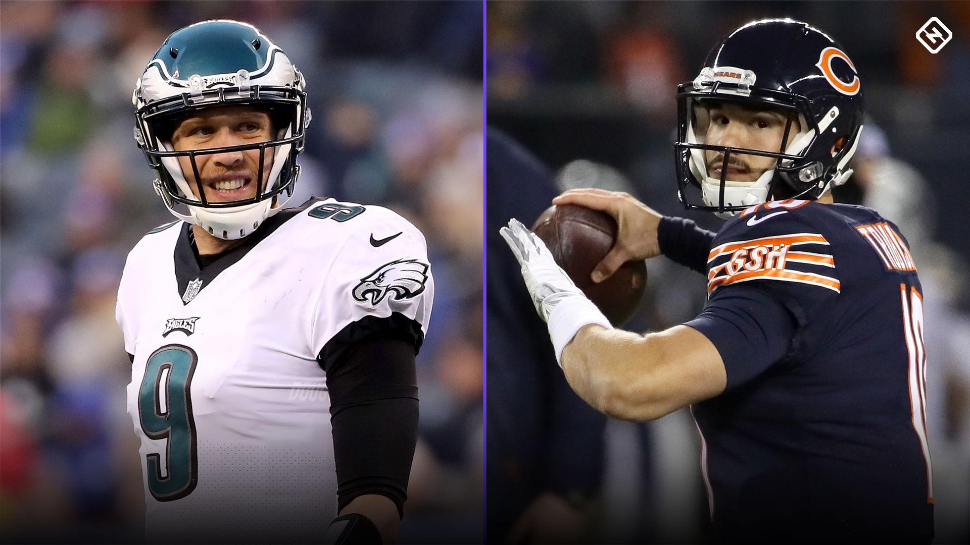1fcf3a90 NFL playoffs: Picks, odds for Eagles vs. Bears wild-card game ...