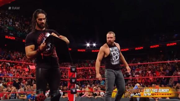 WWE ロウ #1316 セス・ロリンズ ディーン・アンブローズ