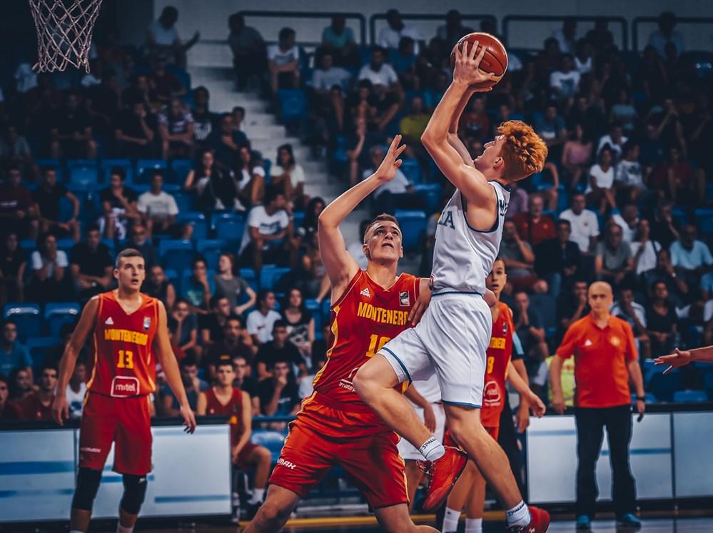 Nico Mannion FIBA Italy