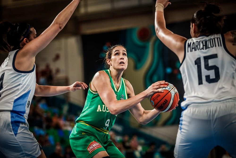 Bec Allen FIBA Australia