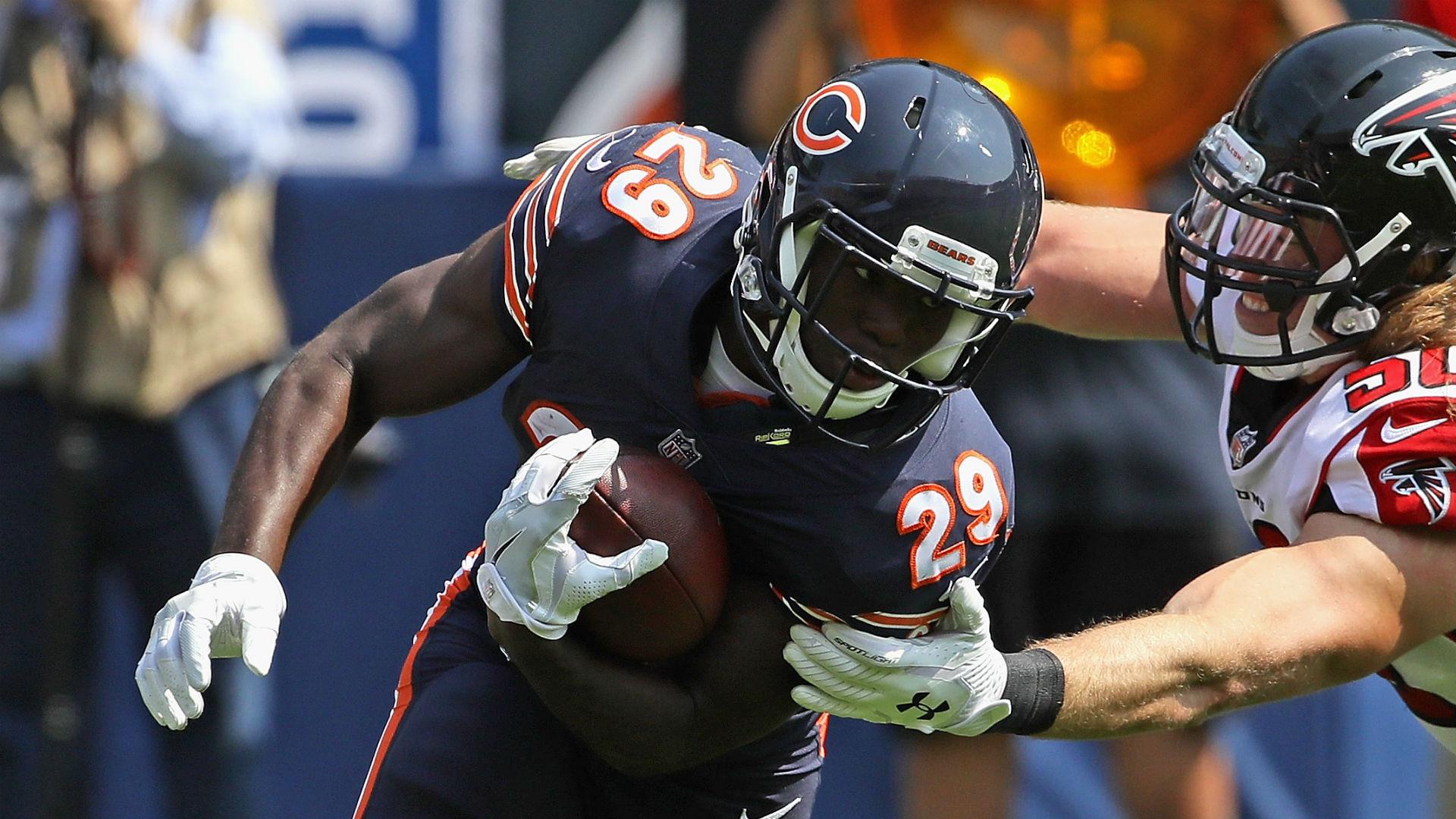 e2f364612e9 Rookie RB Tarik Cohen's breakout was part of Bears' plan against Falcons |  Sporting News