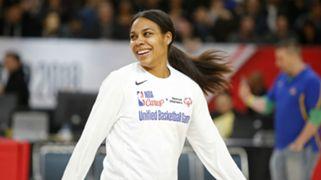 Lindsey Harding NBA Cares Unified Basketball Game