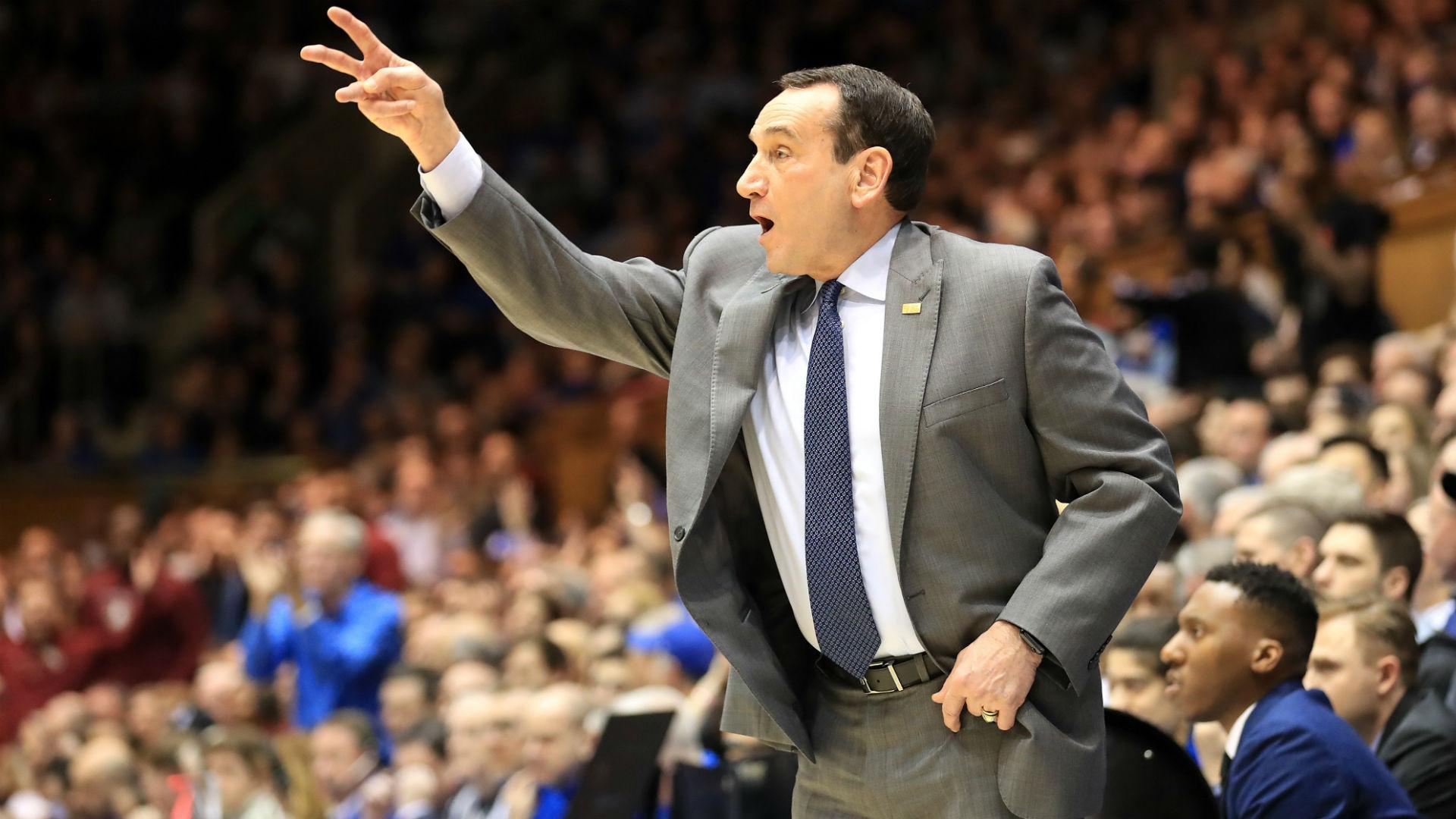 El entrenador K dice que la NCAA debería considerar darles a los adultos mayores de baloncesto universitario un año adicional de elegibilidad 2