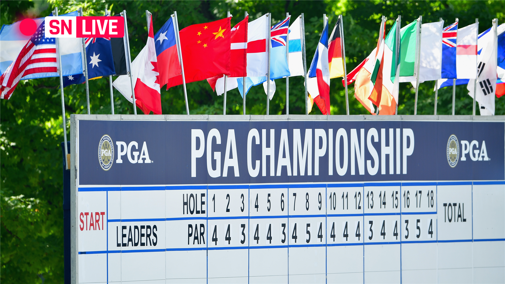PGA Championship leaderboard: Live golf scores, results from