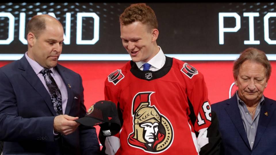 Senators rookie Brady Tkachuk scores first NHL goals