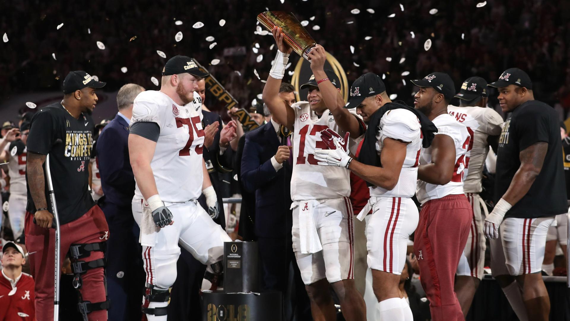 Five crazy stats from Alabama's comeback win vs. Georgia in national championship