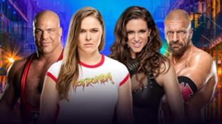 WWE ロンダ・ラウジー マクマホン トリプルH レッスルマニア34 デビュー