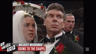 WWE 結婚式 歴代 大荒れ