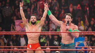 WWE, ロウ, #1338, 試合結果
