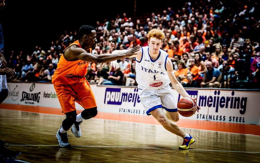 Nico Mannion Italy FIBA