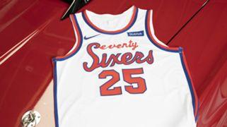 Philadelphia 76ers 2019-20 Classic Edition uniform