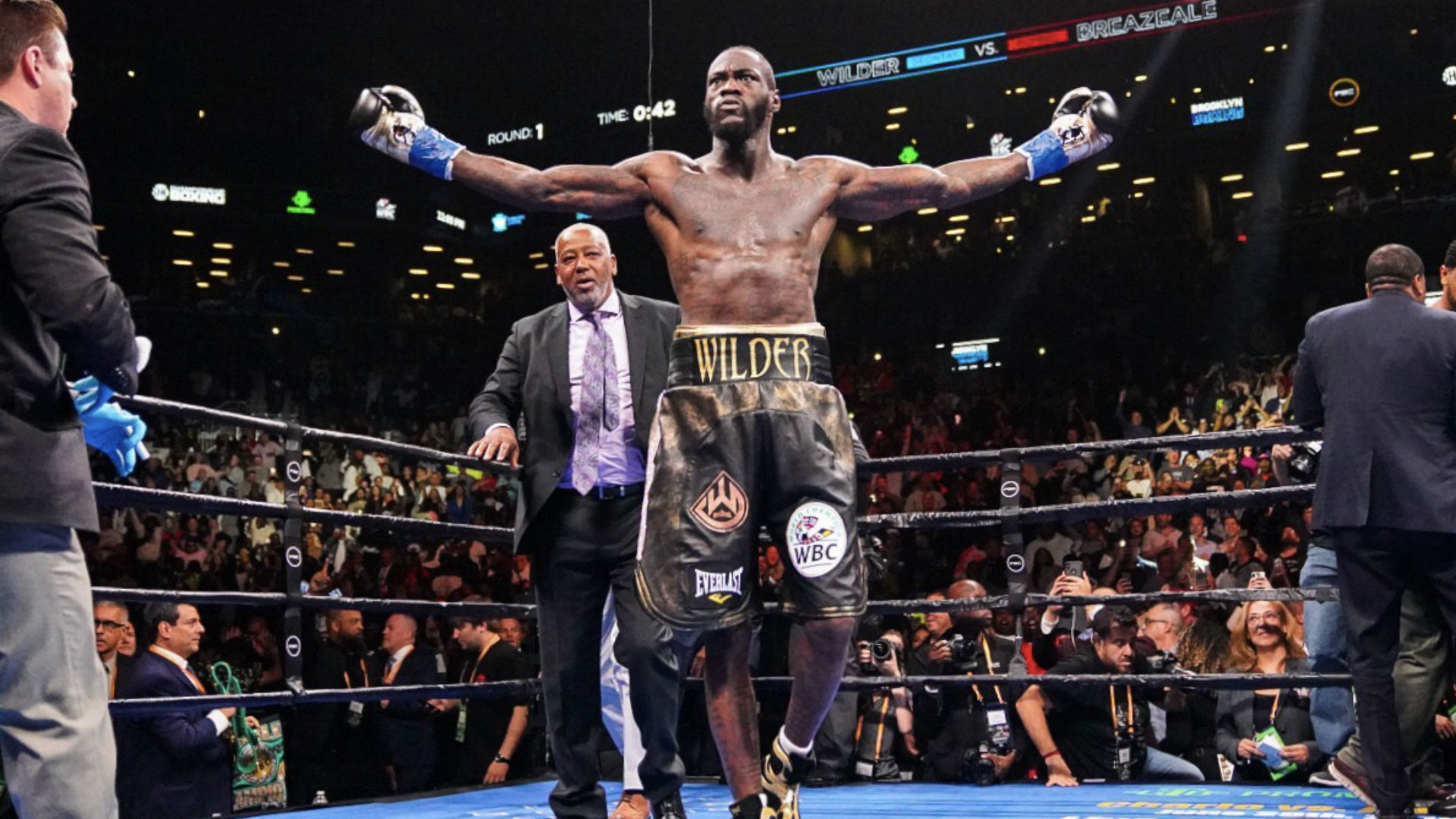 What We Learned From Deontay Wilder S 1st Round Knockout Of Dominic