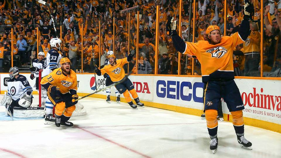 NHL Mixed Bag: Pound for pound, Jets vs. Predators living up to heavyweight billing