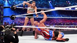 WWE レッスルマニア34 ロンダ・ラウジー デビュー UFC 王者