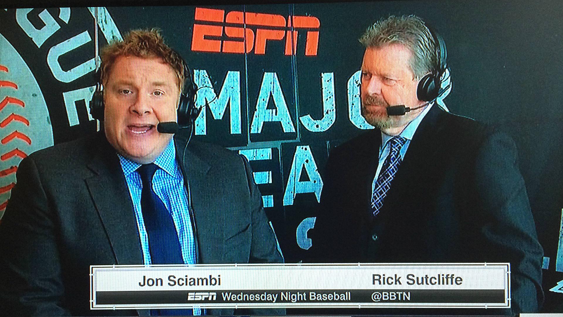 Jon 'Boog' Sciambi emerges as lead candidate to call ESPN's 'Sunday Night Baseball'